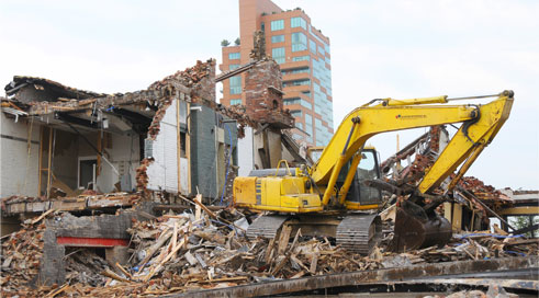 Louisville KY Demolition and Excavation Services